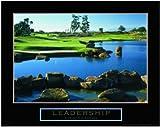 Leadership Golf Motivational Poster Inspirational Art Print