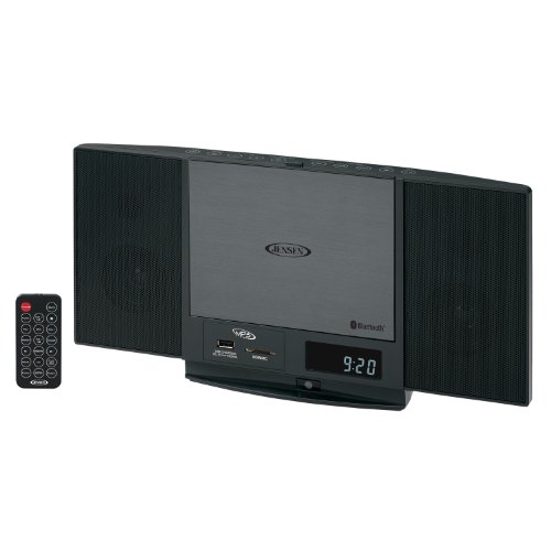 Jensen Jsb300 High Quality Audio Slim Cd System With Bluetooth