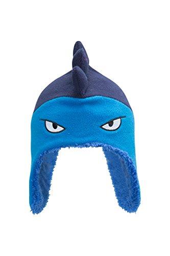 mountain-warehouse-bonnet-garcon-hiver-enfant-peruvien-junior-bebe-animaux-amusant-et-rigolo-dino-bl