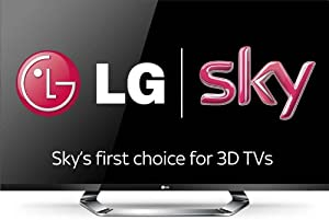 LG 47LM760T 47-inch Widescreen 200Hz Full HD 1080p LED Cinema 3D Smart TV