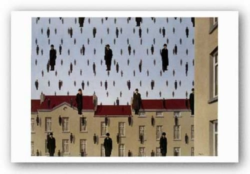 Golconde by Rene Magritte 18