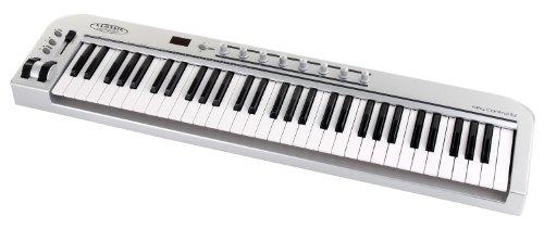 Classic-Cantabile-MK-61-Teclado-MIDI-material-sinttico-61-teclas-conector-tipo-USB-color-plateado