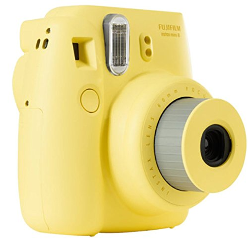 Fujifilm-16427743-Instax-Mini-8-Sofortbildkamera-62-x-46-mm-gelb