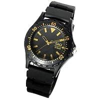 [シチズン]CITIZEN  腕時計 メンズ レディース ラバー ウォッチ CITIZEN ブラックゴールド [国内正規品]