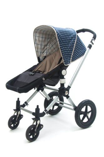 Reversible Canopy for Bugaboo Cameleon (Blueberry)