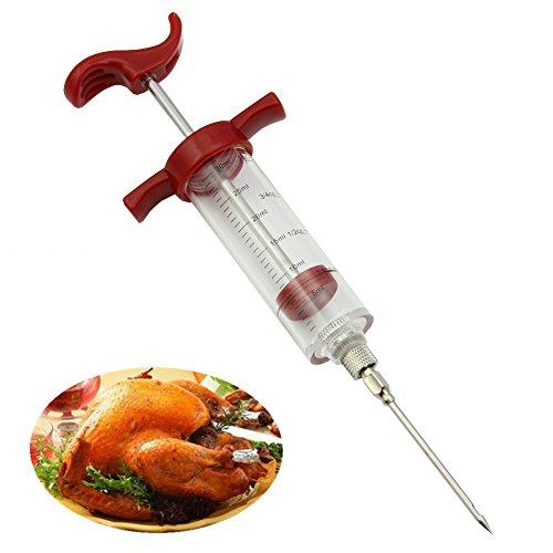HeroNeo® Seringue Injecteur à marinade goût cuisson viande volaille Turquie poulet pour barbecue Outil WQ
