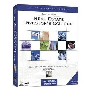 Dolf De Roos' Real Estate Investor's College: Real Estate Investing for Everyone (14 Audio and 1 DVD Success)