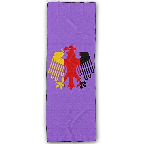 [VINCEIE Germany Football Logo Durable Yoga Towels] (National Costumes Of Columbia For Men)