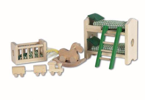 Imagen principal de Beeboo 32308  - Muebles de la habitación de los niños para casa de muñecas