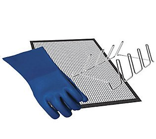 Masterbuilt Smoker & Grill Accessory Kit with Mat, Gloves & Rib Rack
