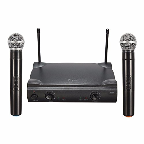 Wireless UHF Bluetooth Microphone System