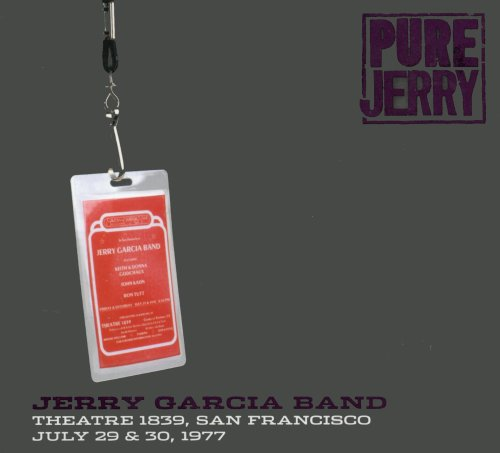 J Garcia Theatre 1839 San Francisco July 29 & 30 by Jerry Garcia