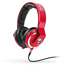 buy Skullcandy Mix Master Headphones With Dj Capabilities And 3 Button Mic, Red