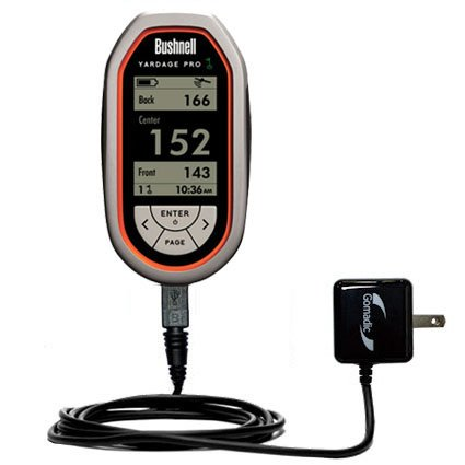 Gomadic High Output Home Wall Ac Charger Designed For The Bushnell Yardage Pro With Power Sleep Technology - Intelligently Designed With Gomadic Tipexchange