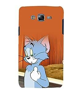 printtech Tom & Jerry Cartoon Back Case Cover for Samsung Galaxy A8::Samsung Galaxy A8 A800F
