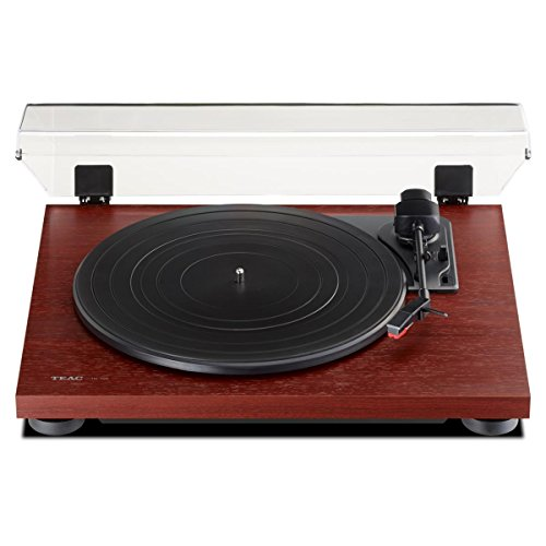Find Discount Teac TN100CH 3 Speed Analog Turntable - Cherry Finish
