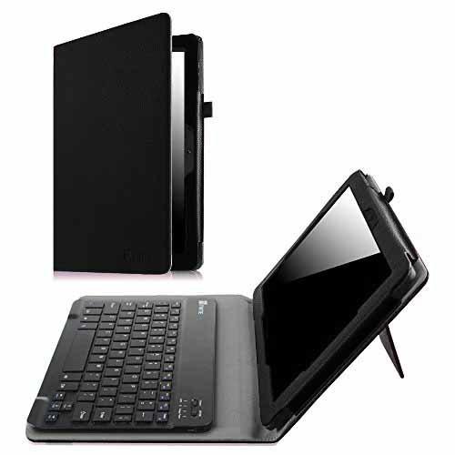 Fintie dragon touch x10 kingpad k100 keyboard case premium pu