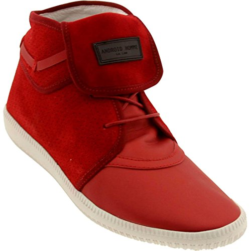 Android Homme Men's Mach 1 - White Sole (flame red)-13.0