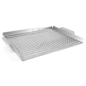 Danesco Stainless Steel Barbecue Grill Topper