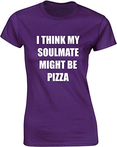 soulmate-might-be-pizza-mesdames-t-shirt-imprime-pourpre-blanc-2xl-98-102cm