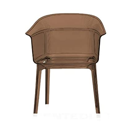 Kartell Papyrus 5830Z5 Chair Brown Fumé
