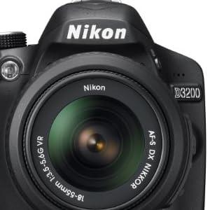 Nikon デジタル一眼レフカメラ D3200BK LK レンズキット ブラック