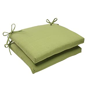 green outdoor patio square chair cushions 18 5 garden