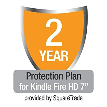 "2-Year SquareTrade Warranty plus Accident Protection for Kindle Fire HD 7"" (Previous Generation)"