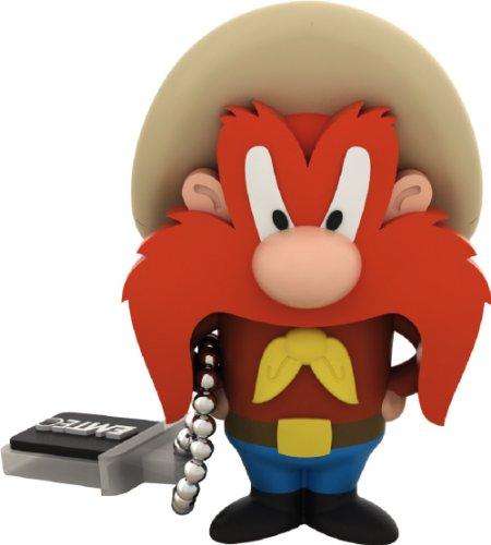 EMTEC Looney Tunes 8 GB USB 2.0 Flash Drive, Yosemite Sam