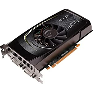 EVGA 01G-P3-1370-KR - Tarjeta gráfica (GeForce GTX 460, 2560 x 1600 Pixeles, NVIDIA, 1 GB, GDDR5-SDRAM, 256 Bit)