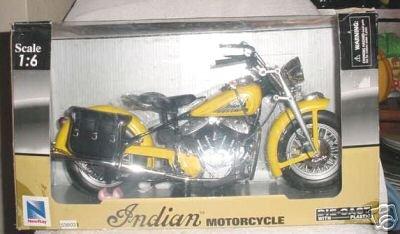 Die Cast Indian Cruiser Motorcycle