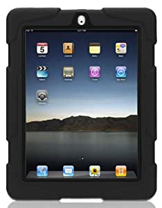 Griffin GB02480 Survivor Extreme-duty Military case for the new iPad (4th Generation), iPad 3 and iPad 2, Black
