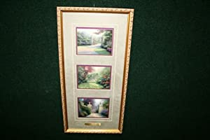 Thomas Kinkade Passages of Summer Framed Inspirational 10 X 21 Accent Prints