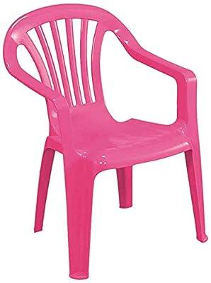 Progarden Stuhl Kindermonoblock Sedia, Baby, rosa von Progarden auf Gartenmöbel von Du und Dein Garten