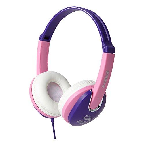 Groov-e Kiddies Headphone with Volume Limiter - Pink/Purple