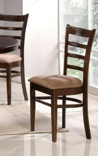 Set of 2 Dining Chairs - Espresso Finish