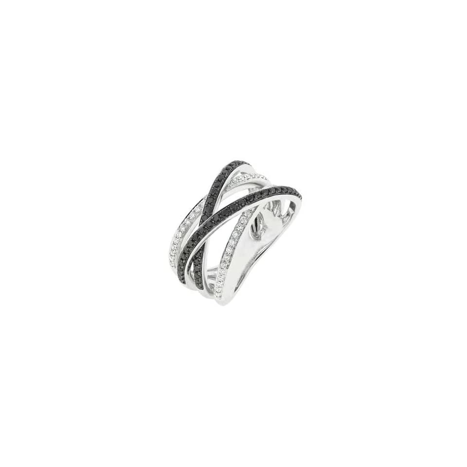 14K White Gold Diamond Ring (SI2 I1 clarity, G I color)