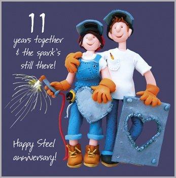 11th-wedding-anniversary-card