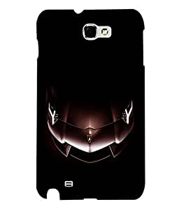 printtech Superfast Car Back Case Cover for Samsung Galaxy Note 2::Samsung Galaxy Note 2 N7100