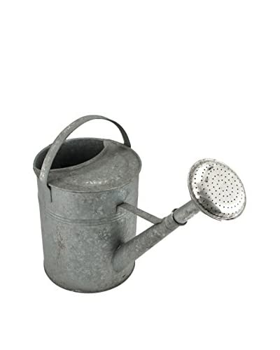 Bambeco Vintage Watering Can, Silver