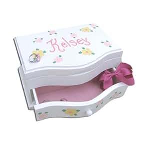personalized handpainted princess jewelry box
