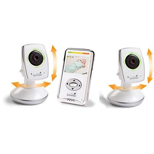Summer Infant - Baby Zoom Wifi Video Monitor Internet Viewing With Extra Camera front-548446