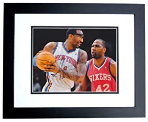 Amare Stoudemire Autographed Hand Signed New York Knicks 8x10 Photo - BLACK CUSTOM... by Real Deal Memorabilia
