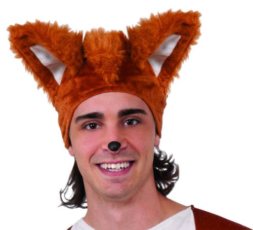 What Does The Fox Say Fox Costume Hat Adult