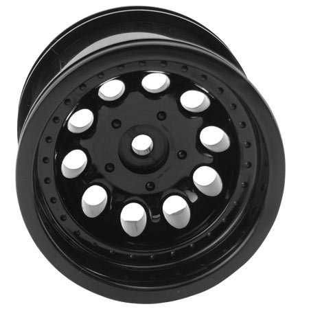 RPM Revolver 2.2 Truck Wheels, Traxxas Electric Front, Black