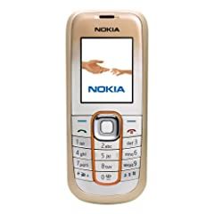 Nokia 2600 classical (sandy bullion &#038; sky blue) Handy ohne Branding