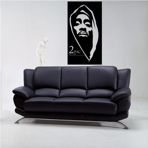 Tupac Style 1 wall decal sticker home décor 23