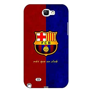 Jugaaduu Barcelona Back Cover Case For Samsung Galaxy Note 2 N7100
