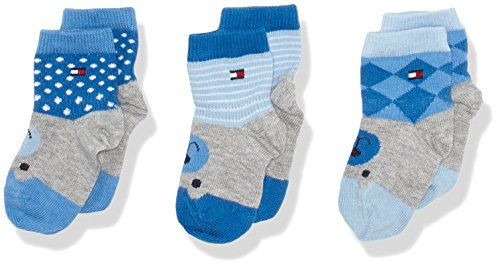 tommy-hilfiger-baby-madchen-socken-th-where-is-the-bear-giftbox-3p-3er-pack-blau-baby-blue-397-19