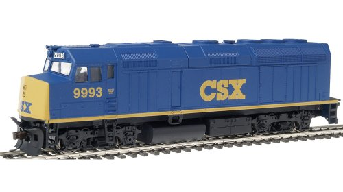 Walthers Trainline EMD HO Scale F40Ph Locomotive Chessie Seaboard Express